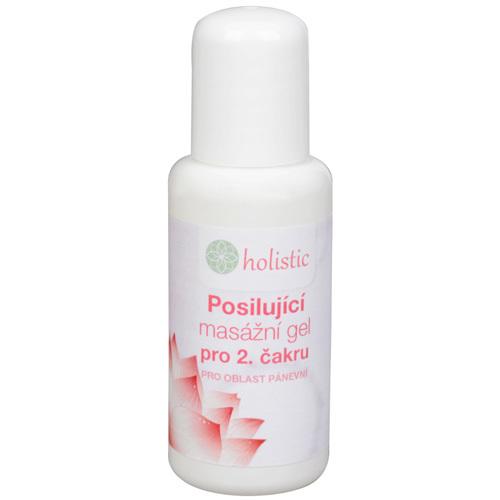 Holistic Posilující masážní gel pro 2. čakru pánevní oblasti 50 ml - SLEVA - ušpiněná etiketa