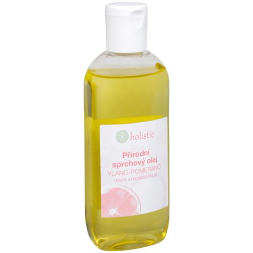 Fotografie Holistic Přírodní sprchovový olej Ylang a Pomeranč 100 ml