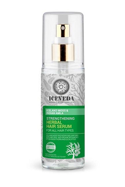 Iceveda Posilující bylinné sérum na vlasy Islandský mech a indická amla 125 ml - SLEVA - prasklé víčko