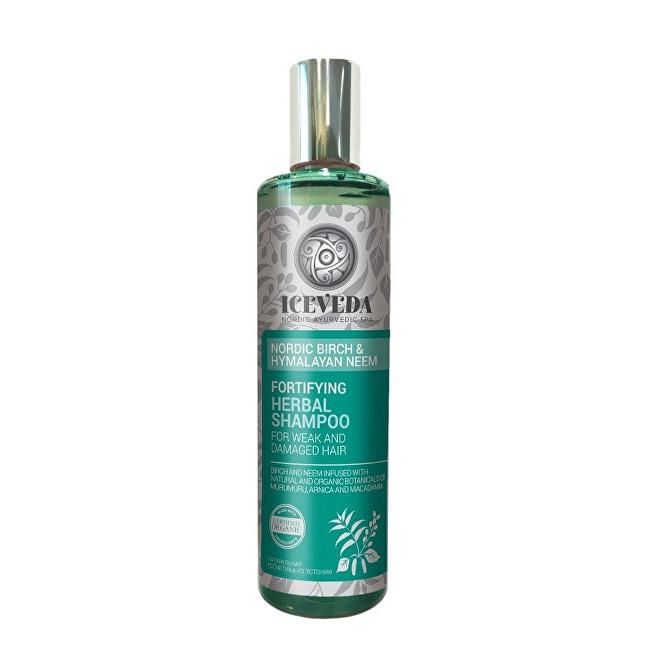 Iceveda Posilňujúci bylinný šampón Škandinávska breza a himalájska nimba 280 ml