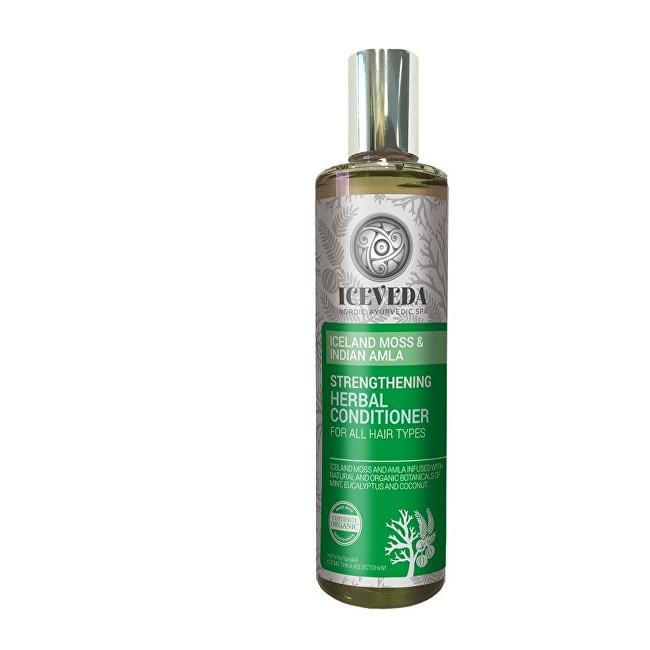 Iceveda Zpevňující bylinný kondicionér na vlasy Islandský mech a indická amla 280 ml