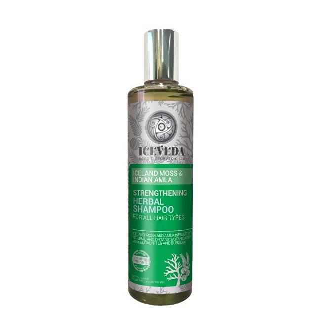 Iceveda Zpevňující bylinný šampon Islandský mech a indická amla 280 ml