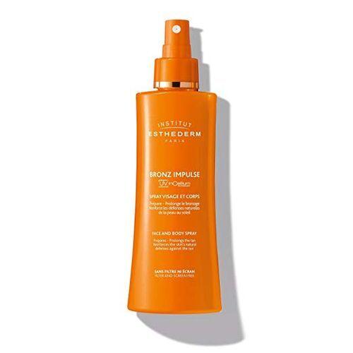 Institut Esthederm Emulze ve spreji na obličej a tělo pro rychlejší a trvalejší opálení Bronze Impulse (Face And Body Spray) 150 ml