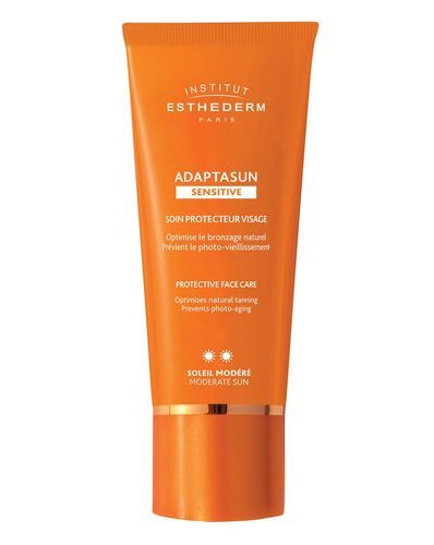 Institut Esthederm Ochranný krém na obličej se střední UV ochranou Adaptasun Sensitive (Protective Face Care) 50 ml