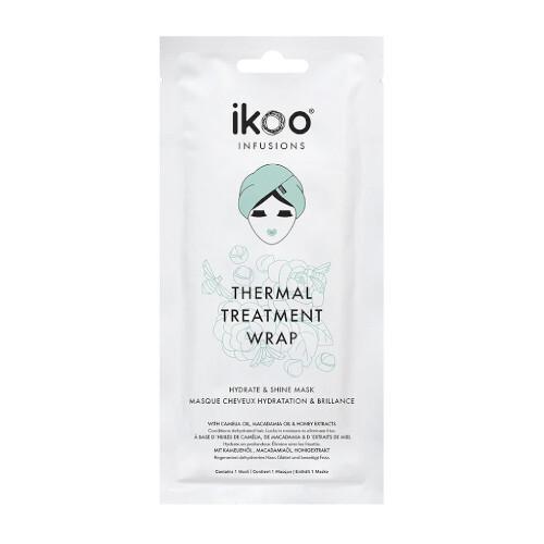 Ikoo Maska pro hydrataci a lesk suchých a kudrnatých vlasů Hydrate & Shine (Thermal Treatment Wrap) 35 g
