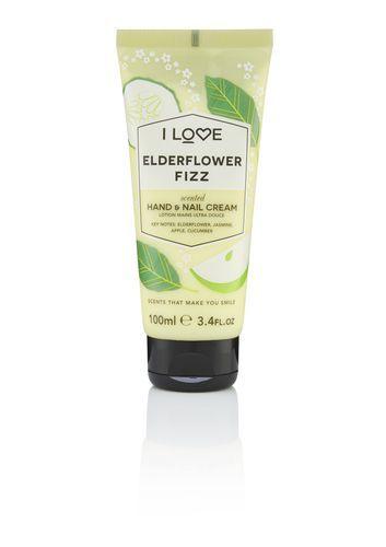 I Love Krém na ruce a nehty Elderflower Fizz (Hand and Nail Cream) 100 ml