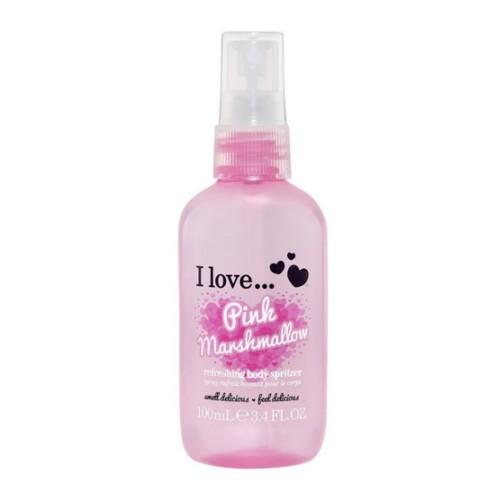I Love Osvěžující tělový sprej s vůní růžového marshmallow (Pink Marshmallow Refreshing Body Spritzer) 100 ml