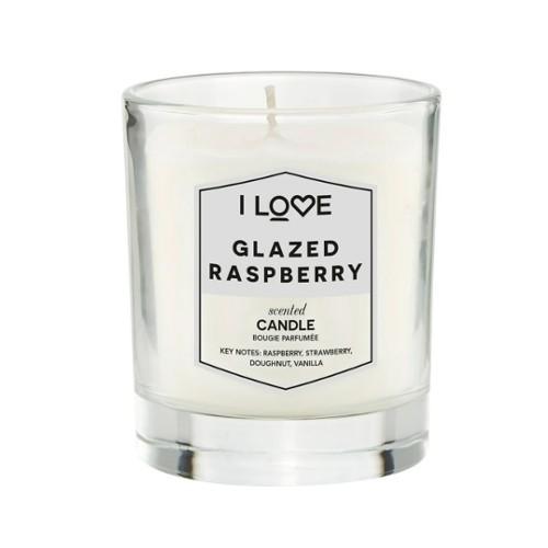 I Love Vonná svíčka Glazed Raspberry 200 g