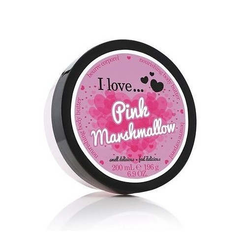 I Love Vyživující tělové máslo s vůní růžového marshmalow (Pink Marshmallow Nourishing Body Butter) 200 ml