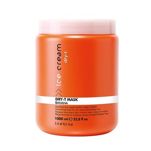 Inebrya Maska pro suché a poškozené vlasy Ice Cram Dry-T (Mask) 1000 ml