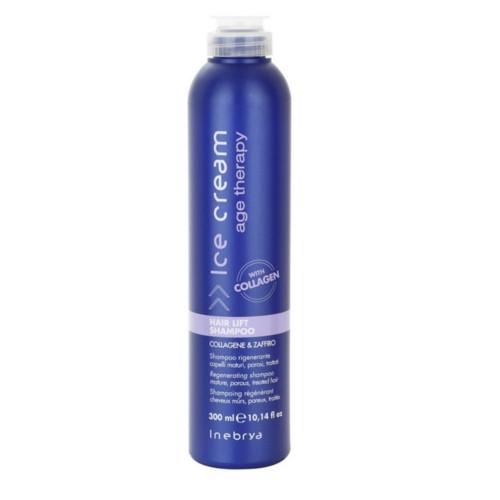 Inebrya Regenerační šampon pro zralé a chemicky ošetřované vlasy Ice Cream Age Therapy (Hair Lift Shampoo) 300 ml