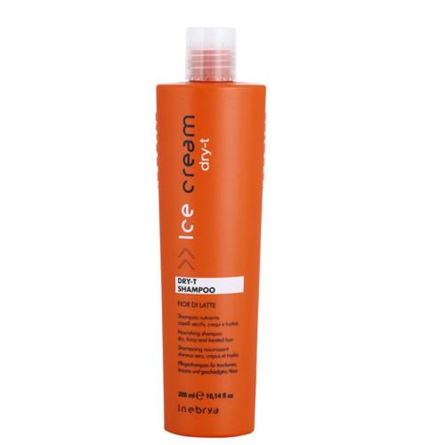 Inebrya Šampon pro suché a poškozené vlasy Ice Cream Dry-T (Shampoo) 300 ml