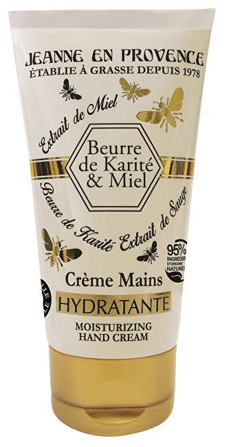 Jeanne En Provence Extra výživný a hojivý krém na ruky Bambucké maslo a med (Healing Hand Cream) 75 ml