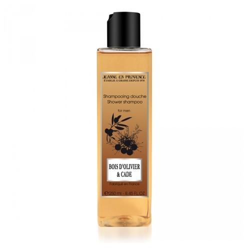 Jeanne En Provence Pánský sprchový gel a šampón 2v1 Olivovník a jalovec (Shower Shampoo For Men) 250 ml