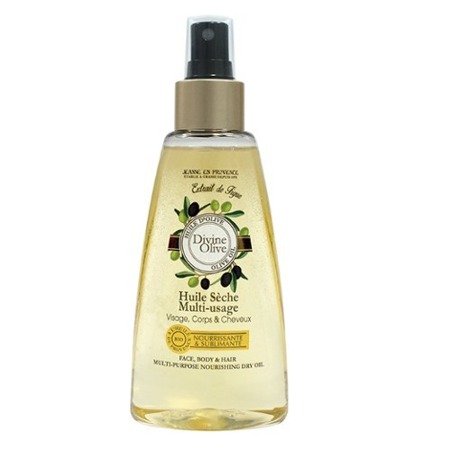 Jeanne En Provence Suchý olej na obličej, tělo a vlasy Oliva (Face, Body & Hair Multi-Purpose Nourishing Dry Oil) 150 ml