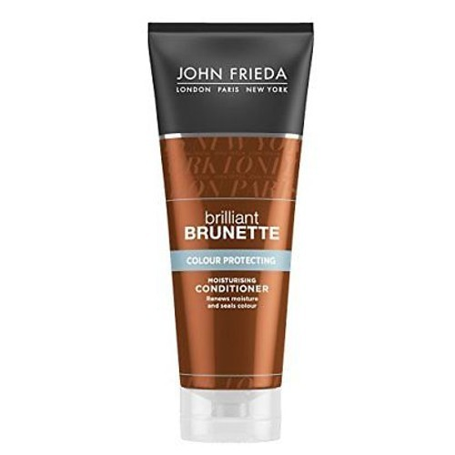 John Frieda Hydratačný kondicionér pre farbené vlasy Brilliant Brunette Colour Protecting ( Moisturising Conditioner) 250 ml