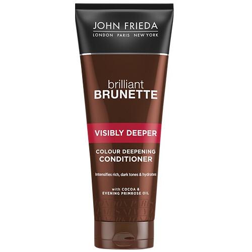 John Frieda Hydratační kondicionér na ochranu barvy pro tmavé vlasy Visibly Deeper (Colour Deepening Conditioner) 250 ml