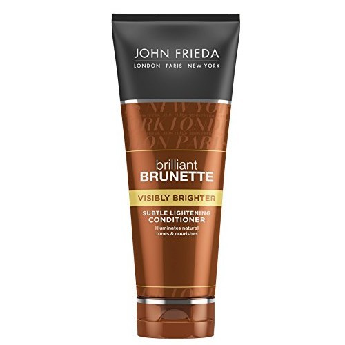 John Frieda Kondicionér pro lesk hnědých vlasů Brilliant Brunette Visibly Brighter (Subtle Lightening Conditiooner) 250 ml