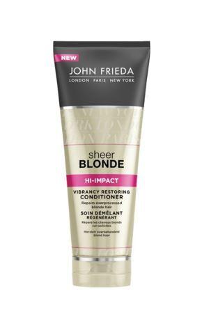 John Frieda Regenerační kondicionér pro poškozené blond vlasy Sheer Blonde (Vibrancy Restoring Conditioner) 250 ml