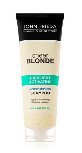 John Frieda Rozjasňující šampon pro blond vlasy (Highlight Activating Moisturising Shampoo) 250 ml
