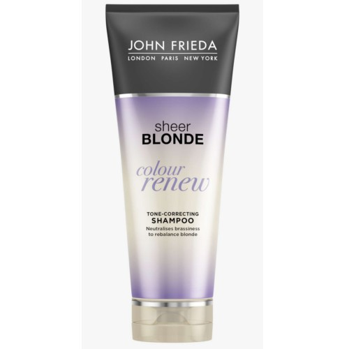 John Frieda Tónovací šampon pro blond vlasy Sheer Blonde Colour Renew ToneCorrecting Shampoo 250 ml