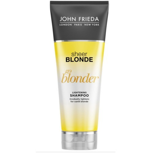 John Frieda Zesvětlujicí šampon pro blond vlasy Sheer Blonde Go Blonder (Lightening Shampoo) 250 ml