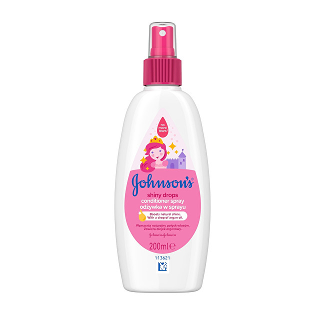 JOHNSON`S Baby Bezoplachový kondicionér ve spreji Baby (Shiny Drops) 200 ml