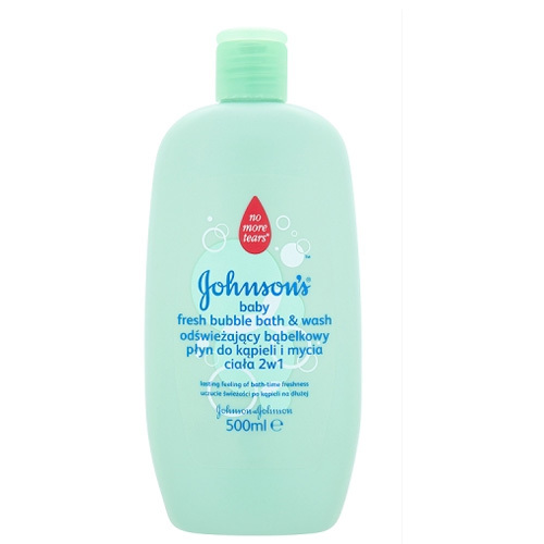 JOHNSON`S Baby Bublinková koupel a mycí gel Baby Fresh 2v1 500 ml