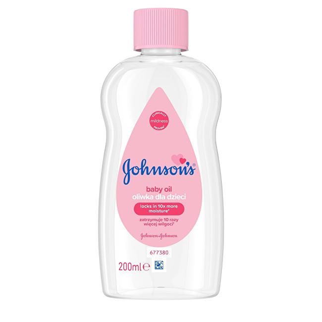 JOHNSON`S Baby Olej pro dětskou pokožku Baby 200 ml