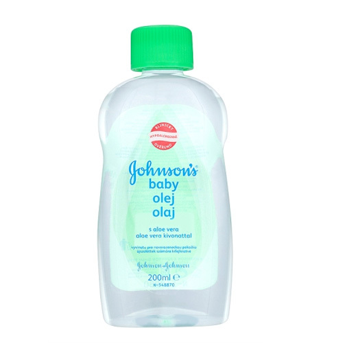 JOHNSON`S Baby Baby Olej s aloe vera 200ml