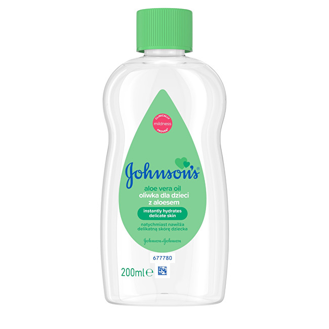 Johnson´s Baby Olej s aloe vera 200ml