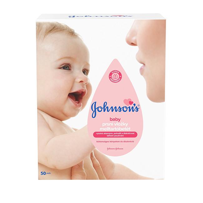 JOHNSON`S Baby Prsní vložky Baby 50 ks