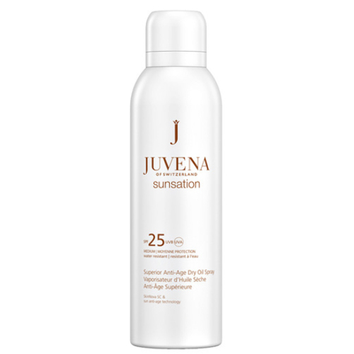 Juvena Suchý olej na opalování SPF 25 Sunsation (Superior Anti-Age Dry Oil Spray) 200 ml