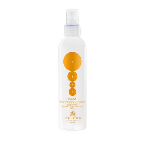 Kallos Ochranný sprej na vlasy s keratinem (Sun Protection Hair Spray) 200 ml