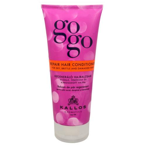 Kallos Regenerační kondicionér pro suché vlasy GoGo (Repair Hair Conditioner) 200 ml