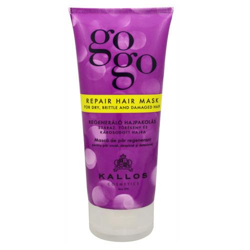 Kallos Regenerační maska pro suché a poškozené vlasy GoGo (Repair Hair Mask For Dry, Brittle And Damaged Hair) 200 ml
