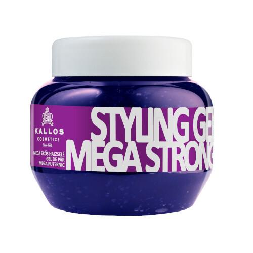 Kallos Silně tužící gel na vlasy (Mega Strong Styling Gel) 275 ml