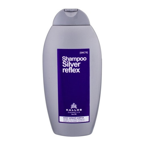 Kallos Strieborný šampón pre blond vlasy ( Silver Reflex Shampoo) 350 ml