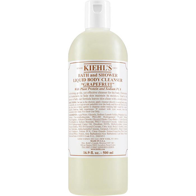 Kiehl´s Čisticí sprchový gel Grapefruit (Liquid Body Cleanser) 1000 ml