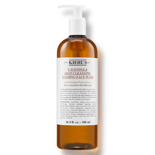 Kiehl´s Hloubkově čisticí gel Calendula (Deep Cleansing Foaming Face Wash) 500 ml