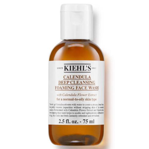 Kiehl´s Hloubkově čisticí gel Calendula (Deep Cleansing Foaming Face Wash) 75 ml