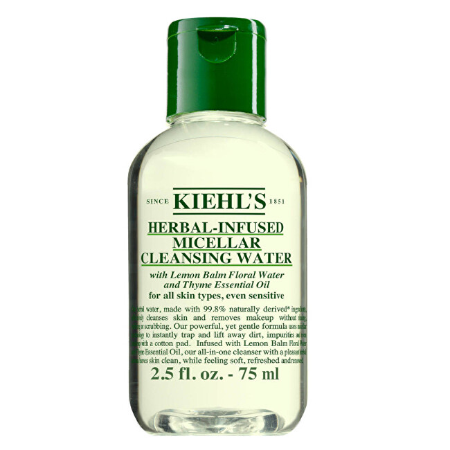 Kiehl´s Hydratačný micelárna a čistiaca voda (Herbal-Infused Micellar Clean sing Water) 75 ml