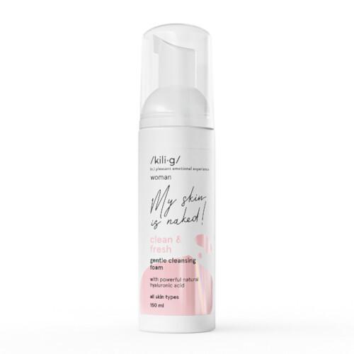 Kilig Jemná čisticí pěna pro všechny typy pleti Woman Clean & Fresh (Gentle Cleansing Foam) 150 ml