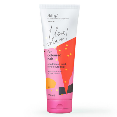 Kilig Kondicionér a maska 2v1 pre farbené vlasy Woman (Conditioner-Mask For Coloured Hair ) 250 ml