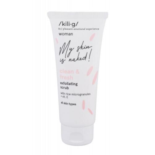 Kilig Pleťový peeling pro všechny typy pleti Woman Clean & Fresh (Exfoliating Scrub) 75 ml