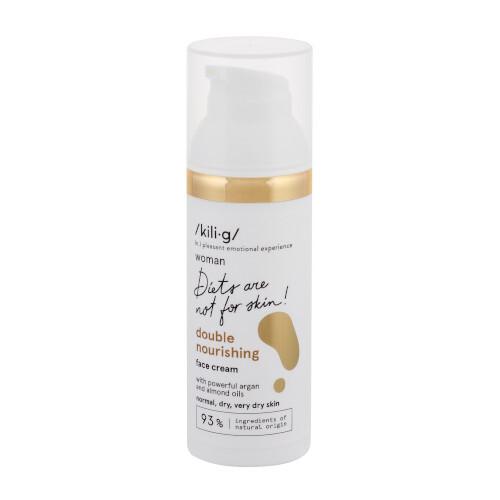 Kilig Vyživující krém pro normální, suchou a velmi suchou pleť Woman Double Nourishing (Face Cream) 50 ml