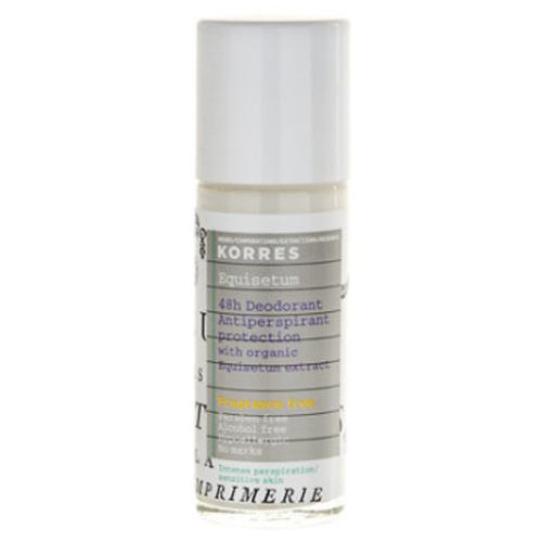 Fotografie Korres Body Equisetum deodorant roll-on bez parfemace 48h 30 ml
