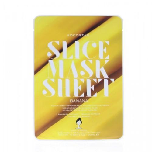 Kocostar Plátková maska Banán (Slice Sheet Mask) 20 ml