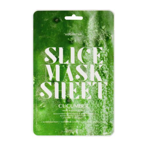 Kocostar Plátková maska Okurka (Slice Sheet Mask) 20 ml