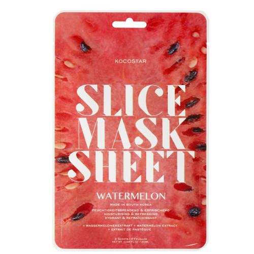 Kocostar Osvěžující plátková maska Vodní meloun (Slice Sheet Mask) 20 ml